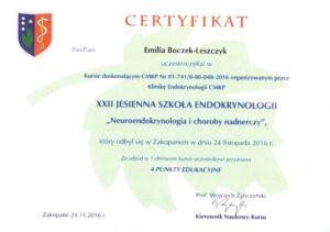 Emilia Boczek-Leszczyk - Jesienna szkoła 2016,1